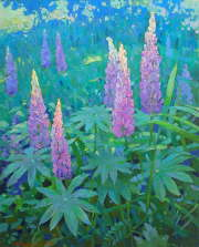 Lupines (private collection)